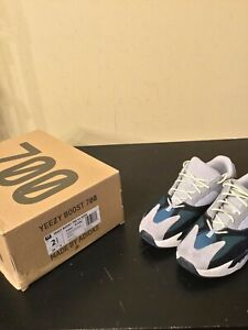 2019 Adidas Yeezy Boost 700 Wave Runner Solid Grey Kids