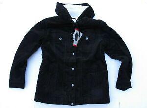 Levi's Ladies Corduroy Jacket Color Black Size Large