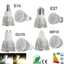8x Dimmable LED Ampoule Spotlight Lamp Bulb MR16 GU10 E14 E27 9W 12W 15W