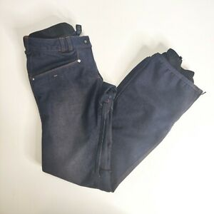 DC Exotek 5,000 5k Snowboard Ski Snow Pants Denim Jeans Lookalike Size Small