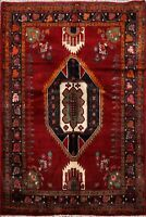 3'x5' Tribal Geometric Mood Hand-Knotted Area Rug Traditional Oriental Carpet