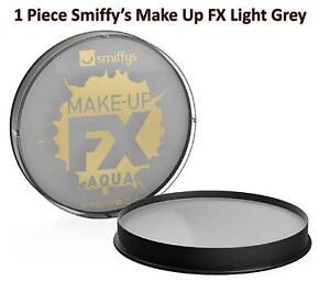 1 Piece Smiffys Make Up FX Light Grey Face Body Paint Kids Carnivals Theme Party