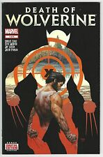 Death of Wolverine #1 Weapon Etched Holo Foil 1st Print Regular Cover Marvel