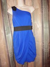 NWT Aqua One Shoulder Dress Size 8  MSP$168