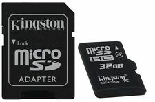 Business/Personal/Hobby Kingston 32GB HC microSD Class4 32 gb Floor Sample X 2ea
