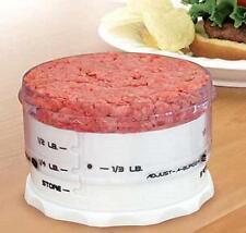 KitchenArt Adjust-A-Burger Hamburger Press