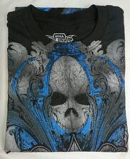 NWT Authentic MMA ELITE Soft Black Short Sleeve 100% Cotton T-Shirt Size XL
