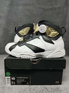 NEW Air Jordan 7 Retro C&C Championship Pack Champagne 725093-140 Men's Size 10