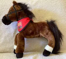 "Legendary Wells Fargo Plush ""Maggie"" Horse w/ Scarf - NEW Pony with tags"