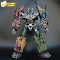 2019 new jinbao K.O. OVERSIZED Warbotron Bruticus Robot Decepticons toy COOL