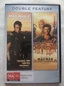 MAD MAX DOUBLE PACK DVD  Action Sci-Fi Mel Gibson Tina Turner FREE POSTAGE