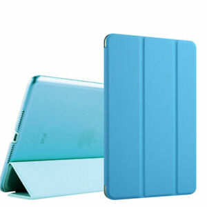 Smart Cover For Apple IPAD 2017/2018 IN 9,7 Inch Protective Case Leather Look