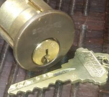Schlage Primus mortise cylinder Brown face W/ 1 key