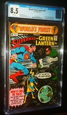 WORLD'S FINEST COMICS #201 1971 DC Comics CGC 8.5 VF+ Superman Green Lantern