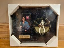 Limited Edition Elvis Presley clock plaque made by vintage sports RARE