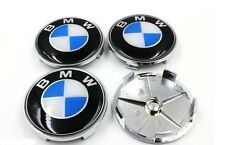 BMW 68mm Alloy Wheel Centre Caps Fits E39 5 Series Vehicles