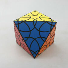 VeryPuzzle 8-Faced Clover Octahedron Magic Cube Twist Puzzle Black