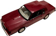 Peach State GMP 1/18 scale in package '87 Buick Regal Turbo T Maroon Model #8004