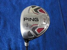PING i15 3 WOOD 15.5*, PING GRAPHITE STIFF, LEFT HAND (R-784) MAKE OFFER