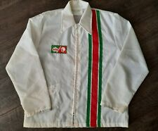 Vintage Sun Drop Soda Holloway Adult Large Made in USA RARE Racing Nascar jacket