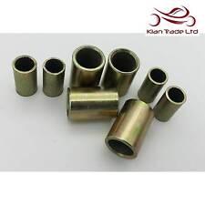 M8 / M12 Metal Spacer Bush Distance Insert Sleeve Steel Collar Zinc Plating