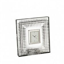 Waterford Crystal Lismore Diamond Bedside Clock New # 40000186