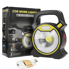30W COB LED Work Light Torch Inspection Lamp Spotlight Rechargeable 2400 Lumens
