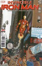 Invincible Iron Man #9 (NM)`17 Bendis/ Caselli