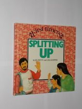 First Timers Splitting Up By Kate Perry & Lisa Kopper. Informative Book 1988.