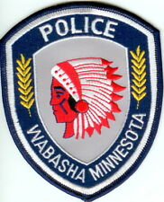 Wabasha Police Minnesota Police patch