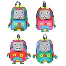 Cartoon Children Kid Backpacks Kindergarten School Bags Hit Color Book Bag R1BO