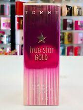 Tommy Hilfiger True Star Gold Eau De Toilette 1 oz Discontinued Fragrance * NIB