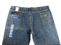 NEW Carhartt Men's Straight Leg Relaxed Fit Jean B460 DPS Size 48x30 NWT