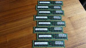 8x HP 500205-071 8GB 2Rx4 PC3-10600R (Samsung) DDR3 Server RAM (64GB)