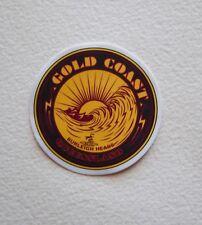 """Gold Coast Queensland Surfing Surfer Stickers Decals 3"""" x 3"""" Surfing Australia"""
