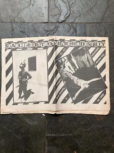 search and destroy Punk Fanzine No 9 1978 Avengers,dead Kennedy's,X