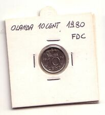 Olanda  Nederland   10 cent  1980        FDC       (m1013)