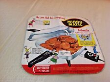 Vtg Mirro Matic Automatic Fry Pan Frying Instruction Manual Cookbook Recipe Book