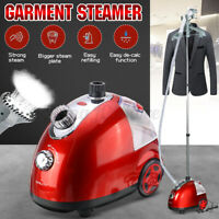 1.6L Stand Steam Iron Handheld Clothes Garment Steamer Ironing Hanging Portable