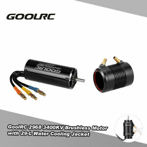 GoolRC 2968 3400KV Brushless Motor And 29-L Water Cooling Combo For RC Boat H7M2