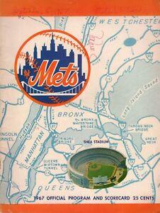 1967 New York Mets St Louis Cardinals Program Ron Willis Mike Torrez Auto