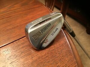 Vintage Wilson Staff Dyna-Power Pitching Wedge Black Button