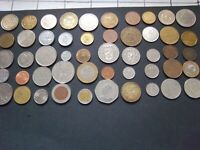 QUALITY SELECTION OF 50 WORLD WIDE COINS [#444] NICE GIFT/EDUCATIONAL MIX LOOK