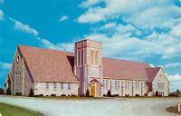 Washington Indiana~Evangelical United Brethren Church 1950s Postcard