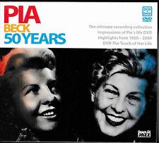 PIA BECK - 50 Years     (2-CD+DVD BOX)  / NEU+OVP-SEALED!