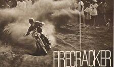 1970 Firecracker Grand Prix - Heikki Mikkola - 2-Page Vintage Motorcycle Article