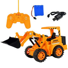 Remote Control Car Electric RC Engineering Vehicle Model Simulated Excavator