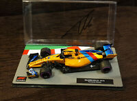 FERNANDO ALONSO SIGNED 2018 MCLAREN F1 MODEL 1:43 VERY RARE UNIQUE LAST RACE