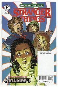 STRANGER THINGS: FREE COMIC BOOK DAY 2020  NM 9.4  + MINECRAFT  Dark Horse