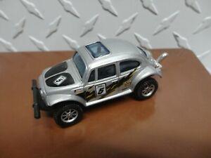 Loose Maisto Silver Volkswagen Baja Bug